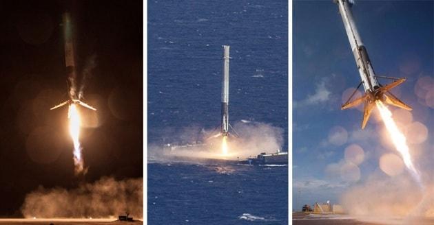 Tutti i tentativi di atterraggio di SpaceX in un video