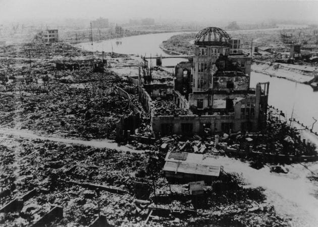 Hiroshima prima e dopo la bomba atomica