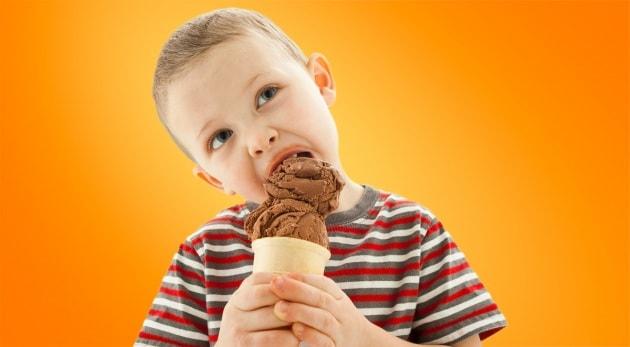 Che cosa c'è dentro il gelato?