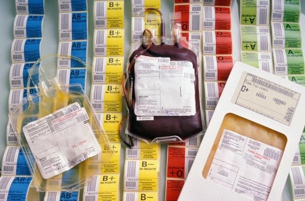 Un test scopre il gruppo sanguigno in 30 secondi