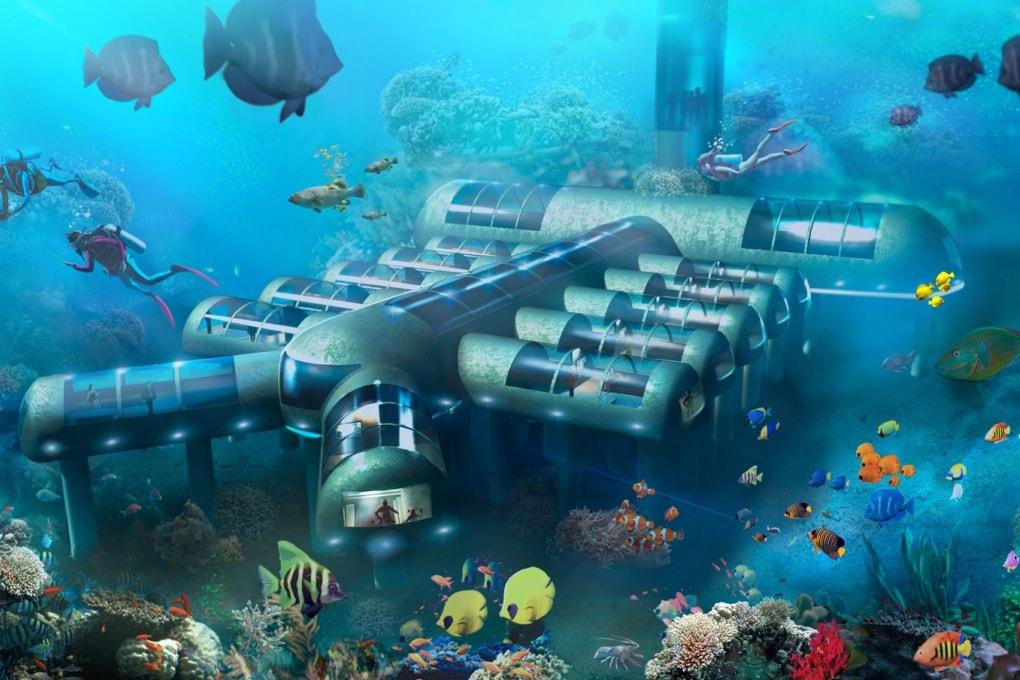 L'hotel sotto il mare