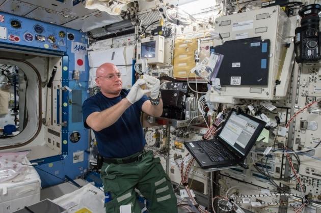 I batteri che hanno trovato casa sulla ISS