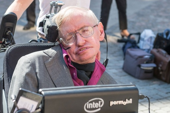 Stephen Hawking al Kth Royal Institute of Technology di Stoccolma. | KTH