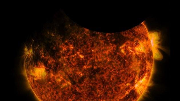 La doppia eclisse solare vista da SDO