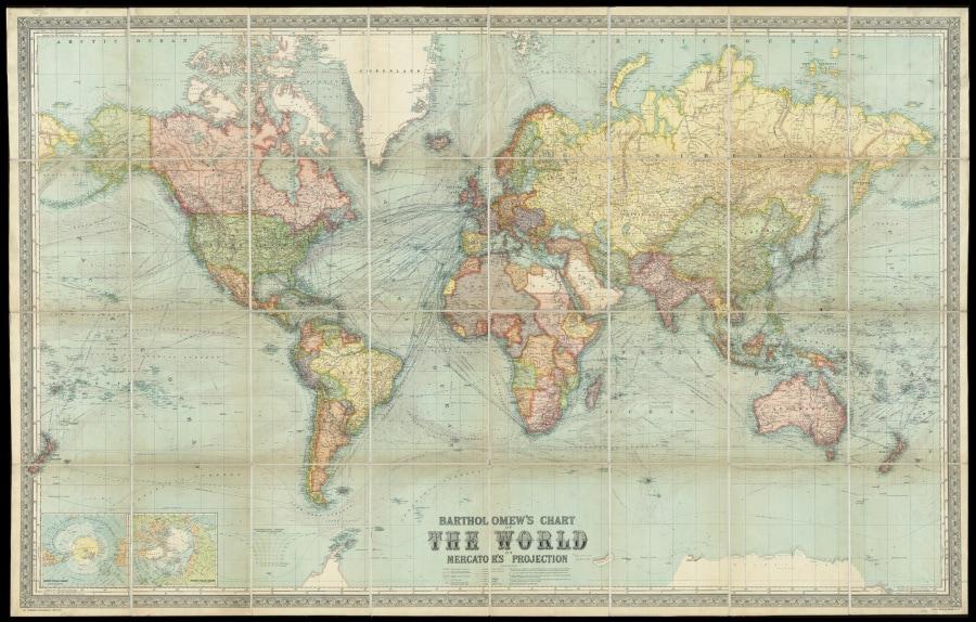 Cartina Mondo Ingrandita.La Prova Di Quanto Le Mappe Ci Ingannano Focus It