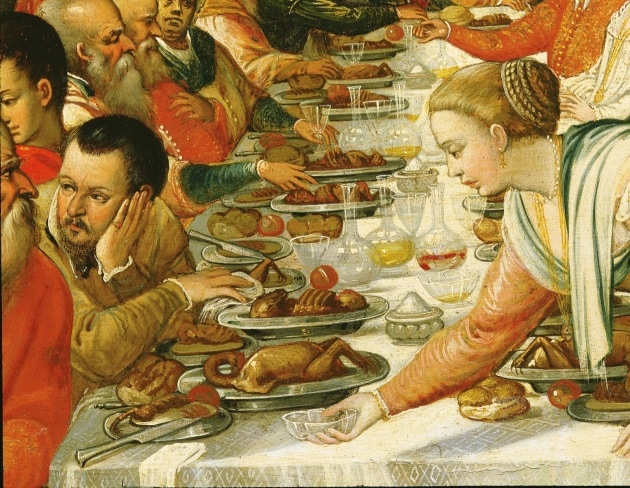 Pranzi e banchetti nella Storia