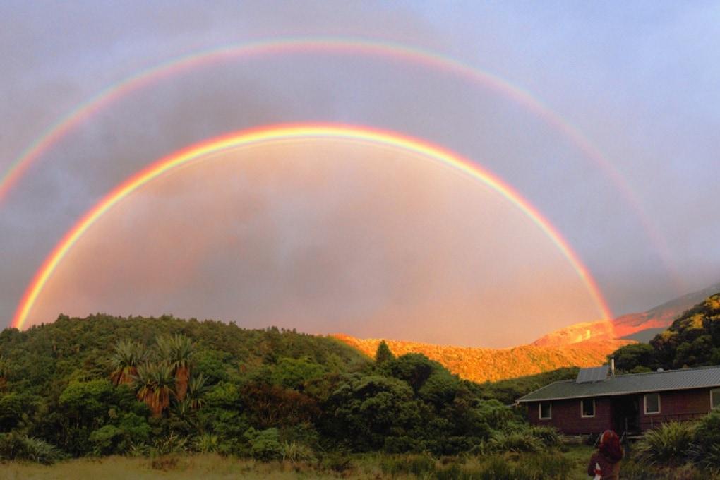Esistono 12 diversi tipi di arcobaleni
