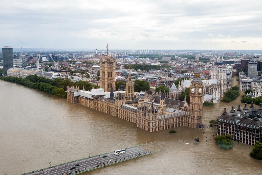 Riscaldamento globale: scenari di città sommerse
