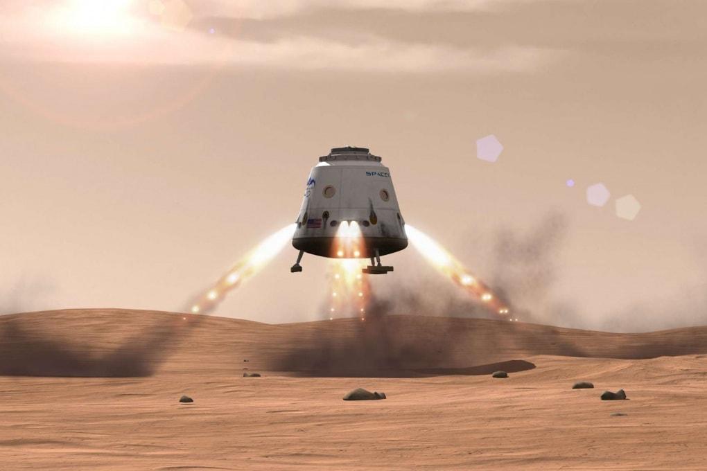 La capsula Dragon potrebbe essere utiizzata per prelevare campioni di roccia da Marte
