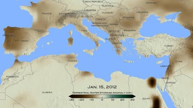 La peggiore siccità da 900 anni