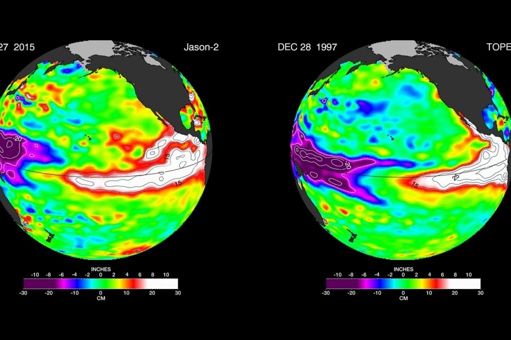 El Niño è ancora in crescita