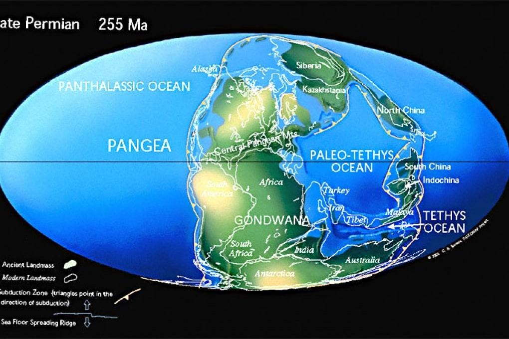 Il riscaldamento globale 260 milioni di anni fa