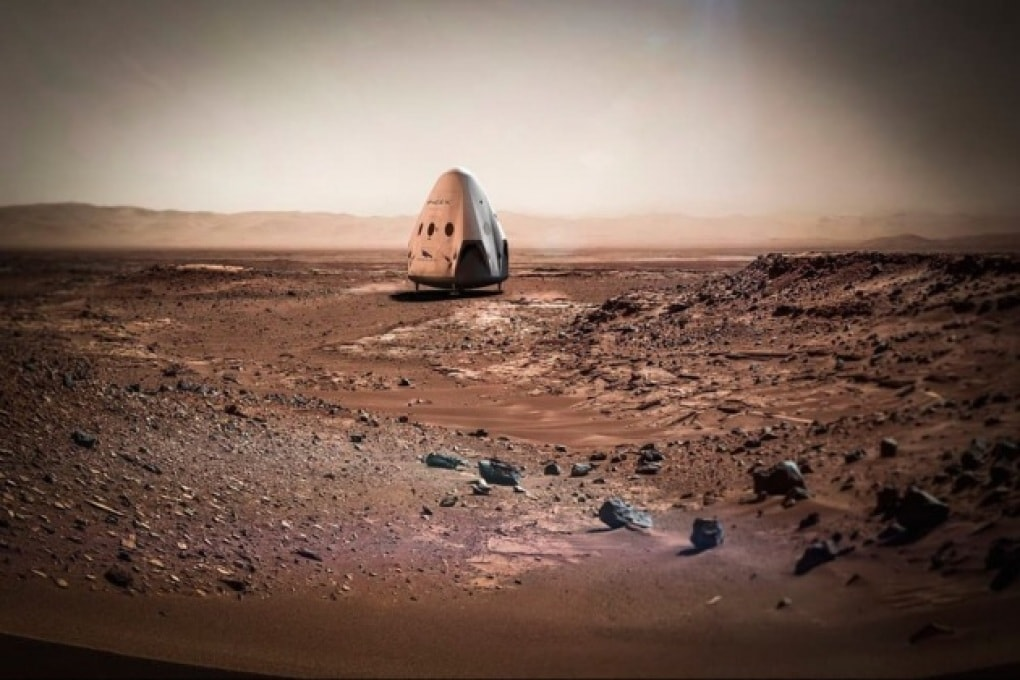 Nel 2024 i primi uomini su Marte