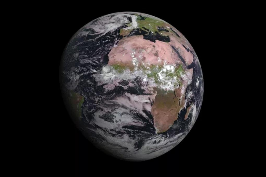 La Terra dallo Spazio: lo scatto del satellite MSG-4
