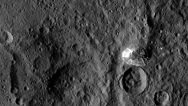 Cerere dall'orbita stabile della Dawn