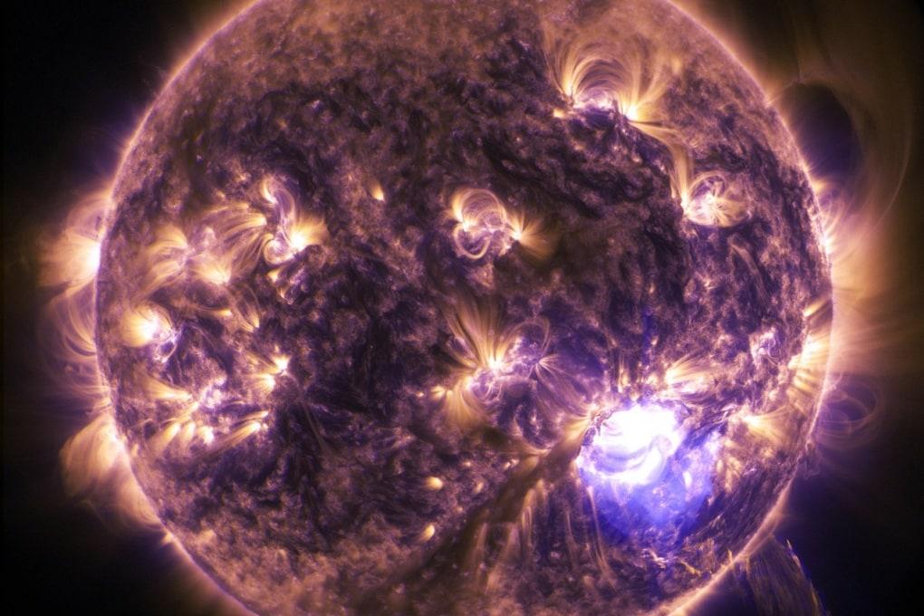 Il nucleo del Sole ruota 4 volte più velocemente della sua superficie
