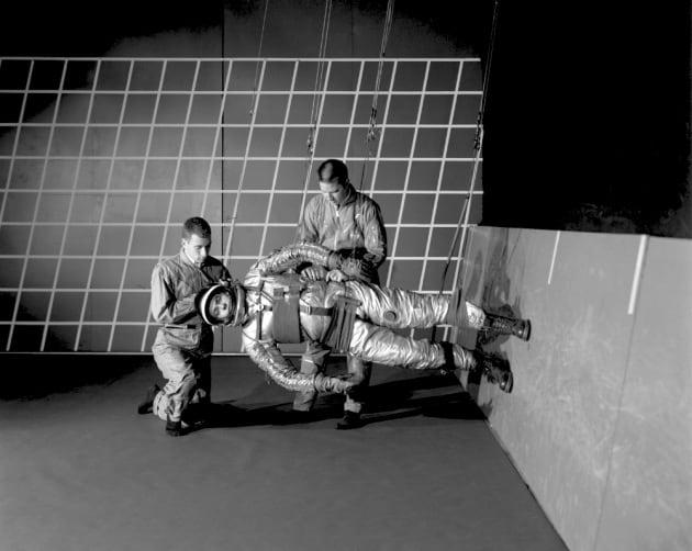 Astronauti d'un tempo: il training per le missioni lunari