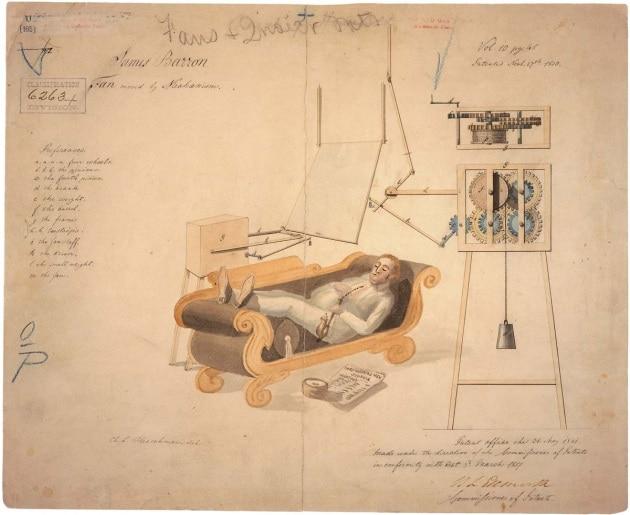 I brevetti più strani di due secoli fa