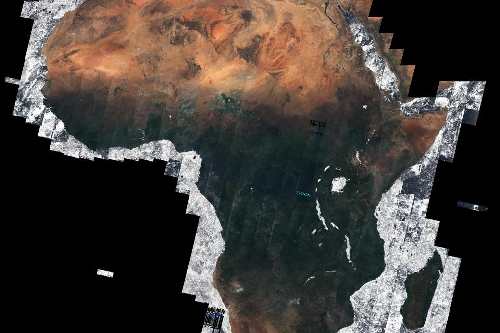 L'Africa dallo Spazio, senza una nuvola