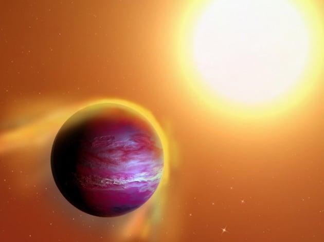 Il baby pianeta stretto in una morsa mortale