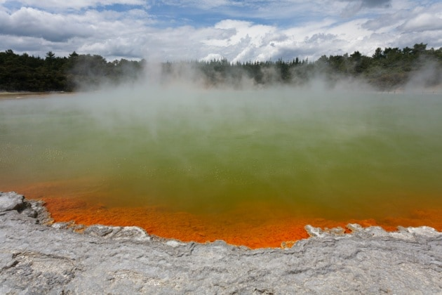 Un vulcano