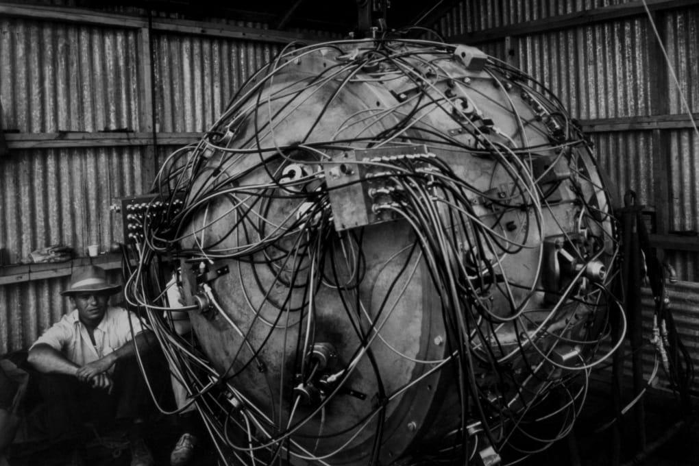 Gadget è il nome della prima bomba atomica della storia.