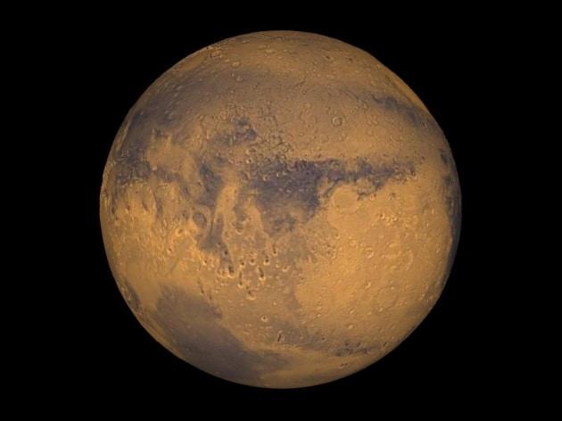 La Nasa e l'annuncio su Marte