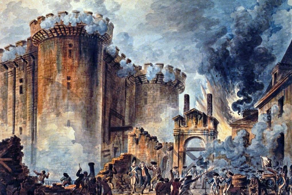 14 luglio 1789, la Presa della Bastiglia
