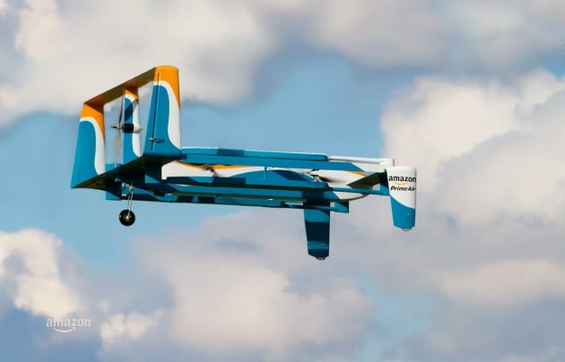 Il nuovo drone commerciale di Amazon
