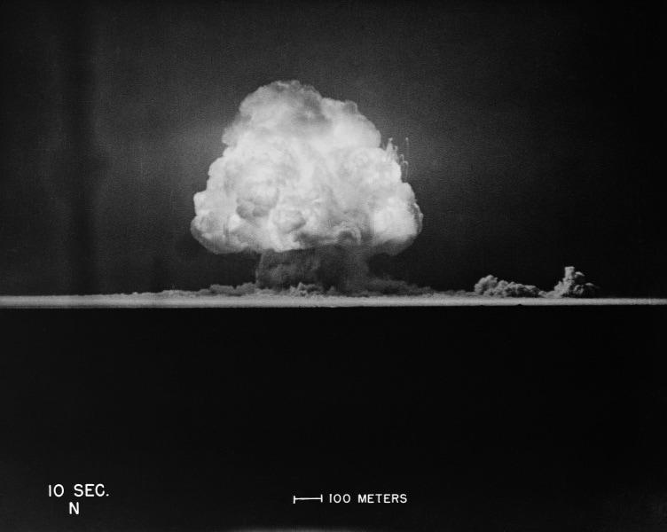 Le foto della prima bomba atomica