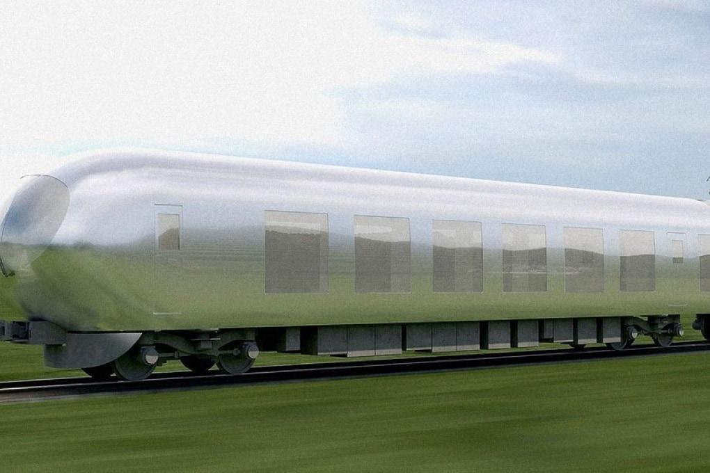 Il treno invisibile e altre trasparenze a motore