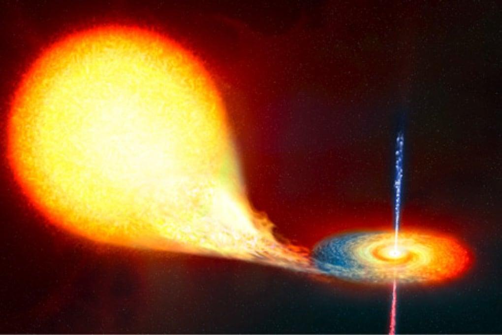 Il risveglio del buco nero