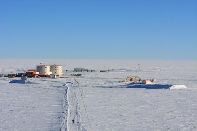 Ghiacci alpini in viaggio verso l'Antartide