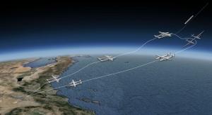 Stratolaunch, primo volo, schema missione.