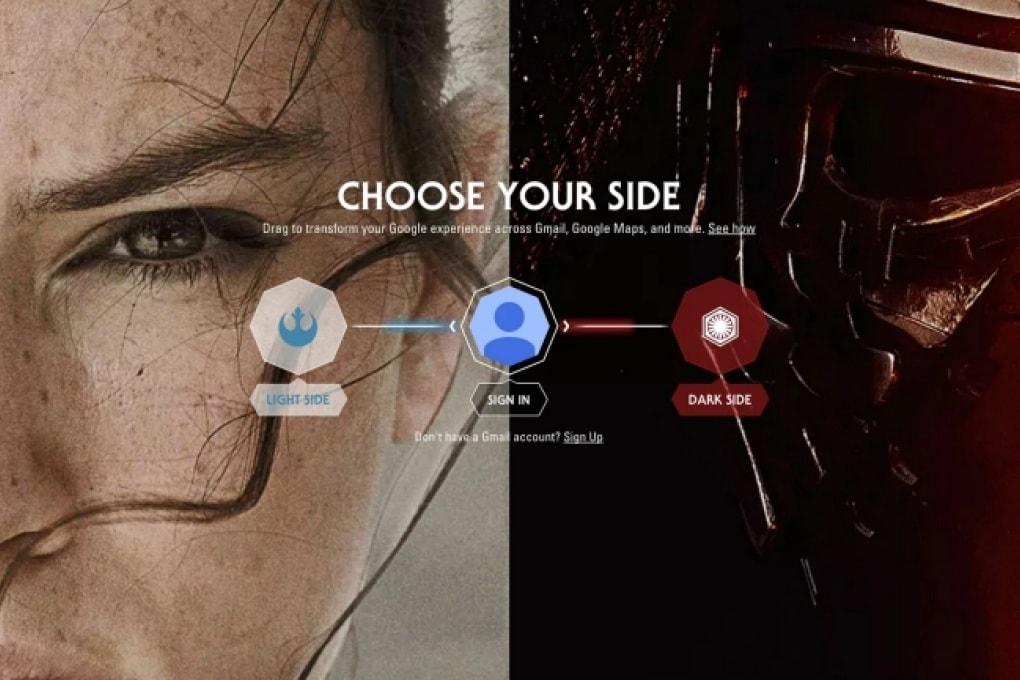 Google Star Wars e il risveglio della Forza