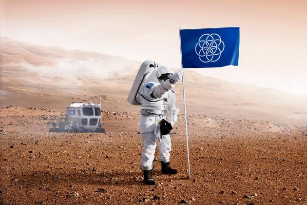 Sarà questa la bandiera che pianteremo su Marte?