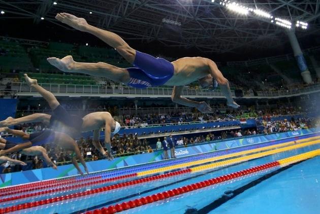 La piscina del nuoto di rio favorisce i record - Piscina olimpiadi ...
