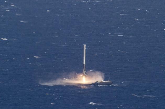 SpaceX nella storia: Falcon 9 atterra sulla nave