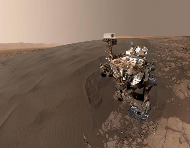 Uno sciame di api robotiche su Marte