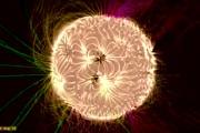 Le immagini psichedeliche del campo magnetico solare