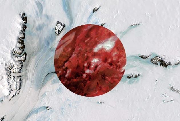 Le bandiere del mondo ricreate con le foto da satellite
