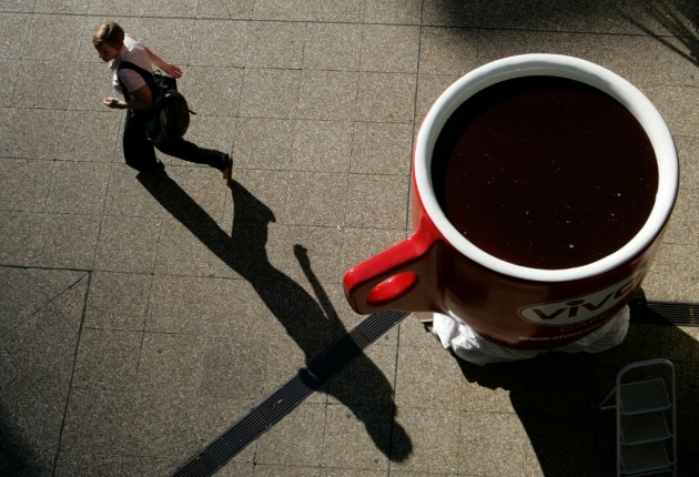 Dopo tre notti in bianco, il caffè non serve più