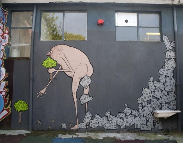 La street art salverà il mondo (dai disastri ecologici)