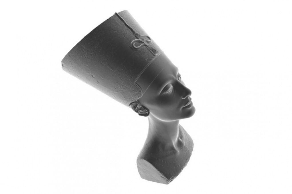 Come stampare in 3D il busto di Nefertiti