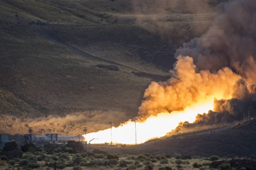 Il test del razzo che ci porterà su Marte