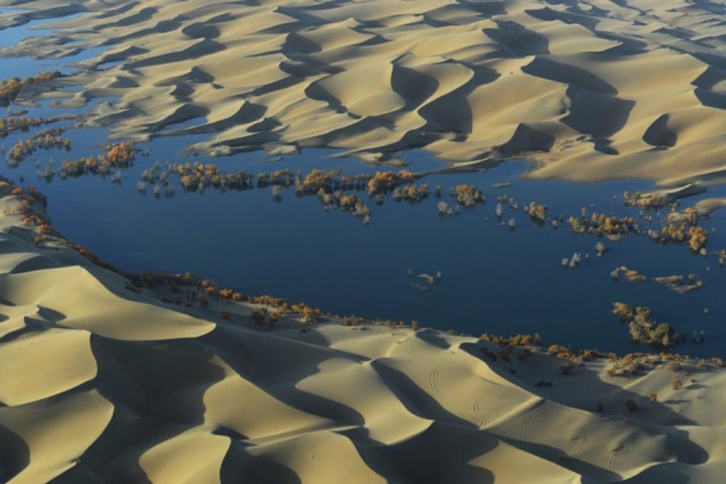 Come i deserti catturano l'anidride carbonica