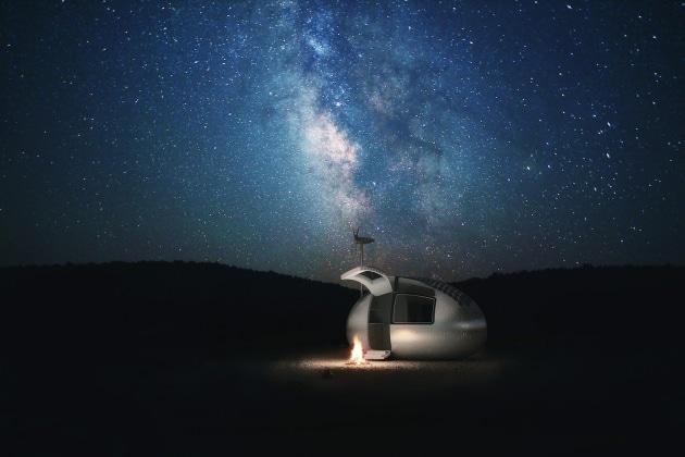L'ecocapsula autonoma per vivere dappertutto