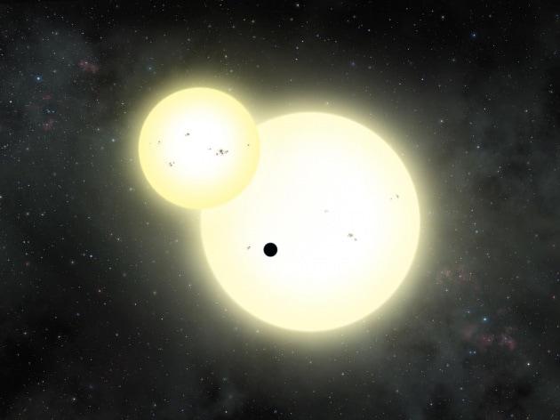 Il più grande pianeta con due soli