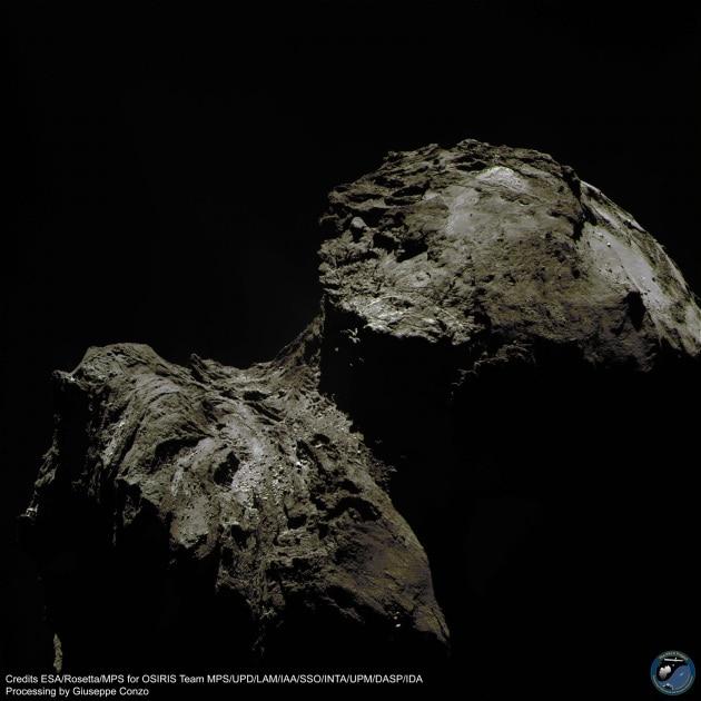 67P a colori: la cometa come non l'avete mai vista