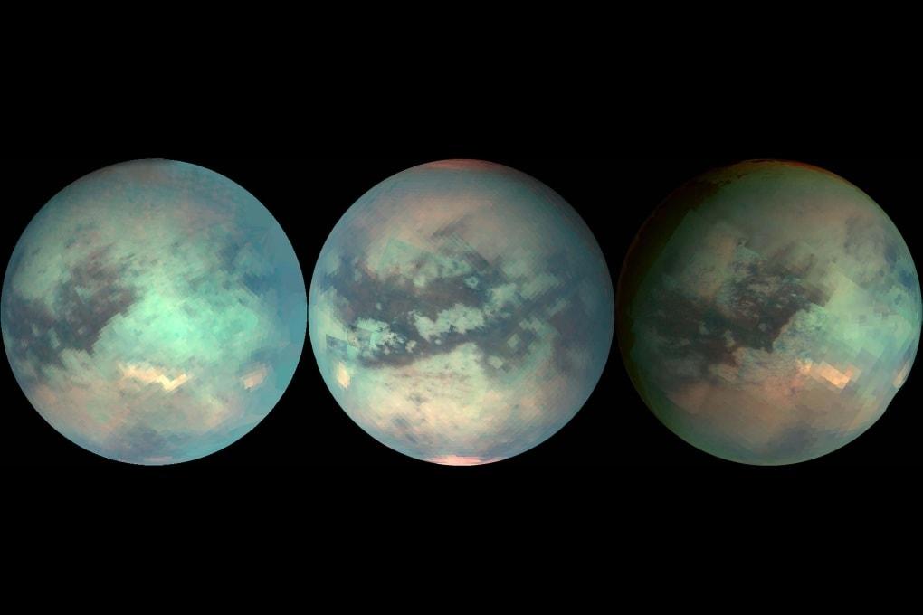 Il clima è cambiato anche su Titano